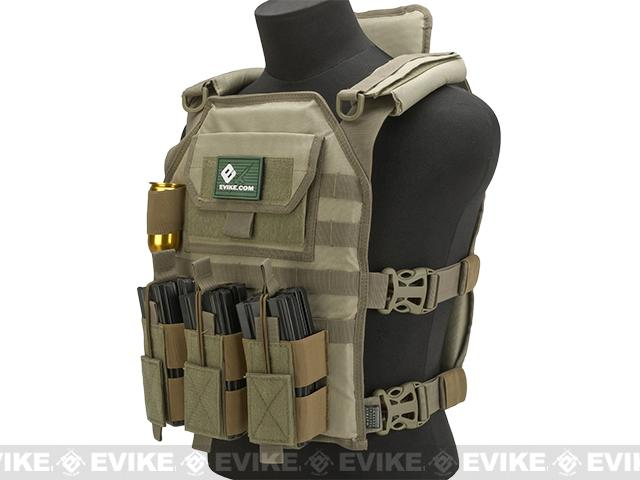 Matrix Skeletal Force High Speed Tactical Vest - Tan
