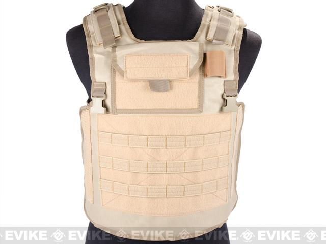 Matrix Variable Front Plate Vest w/ Integrated Pistol Holster - (OD Green)