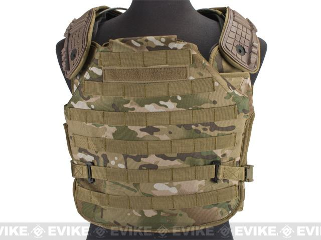 z Avengers Future Soldier Airsoft Plate Carrier - Land Camo
