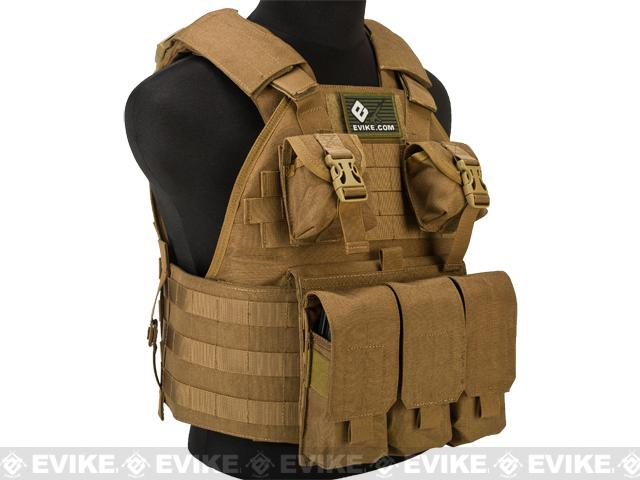 Emerson Compact High Speed Plate Carrier - (Coyote Brown)