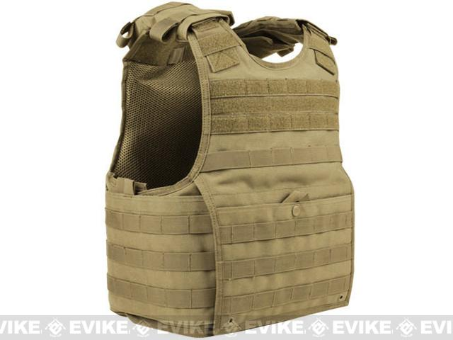Condor Exo Plate Carrier - Tan / Large