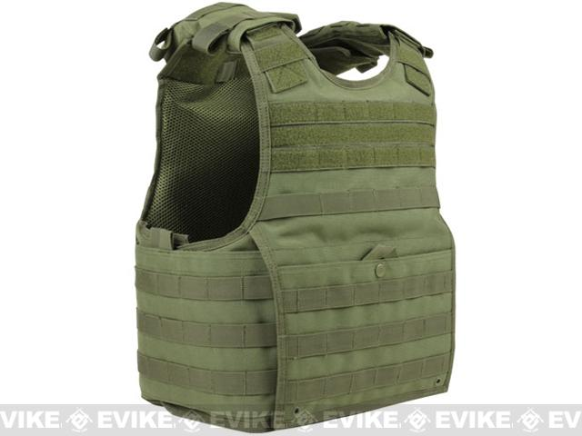 Condor Exo Plate Carrier - OD Green / Small