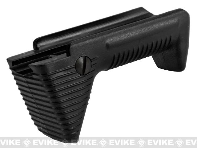 APS Dynamic Hand Stop Polymer Angled Airsoft Foregrip (Color: Black)