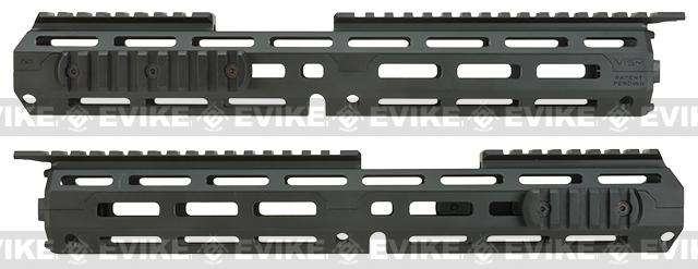 NcSTAR VISM 13.75 Triangle M-LOK Carbine Length Hand Guard for M4 / M16 / AR15 Rifles