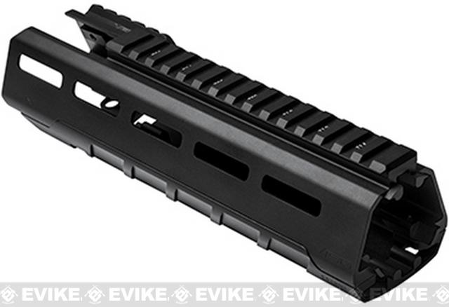z NcSTAR VISM 9 Triangle M-LOK Carbine Length Hand Guard for M4 / M16 / AR15 Rifles