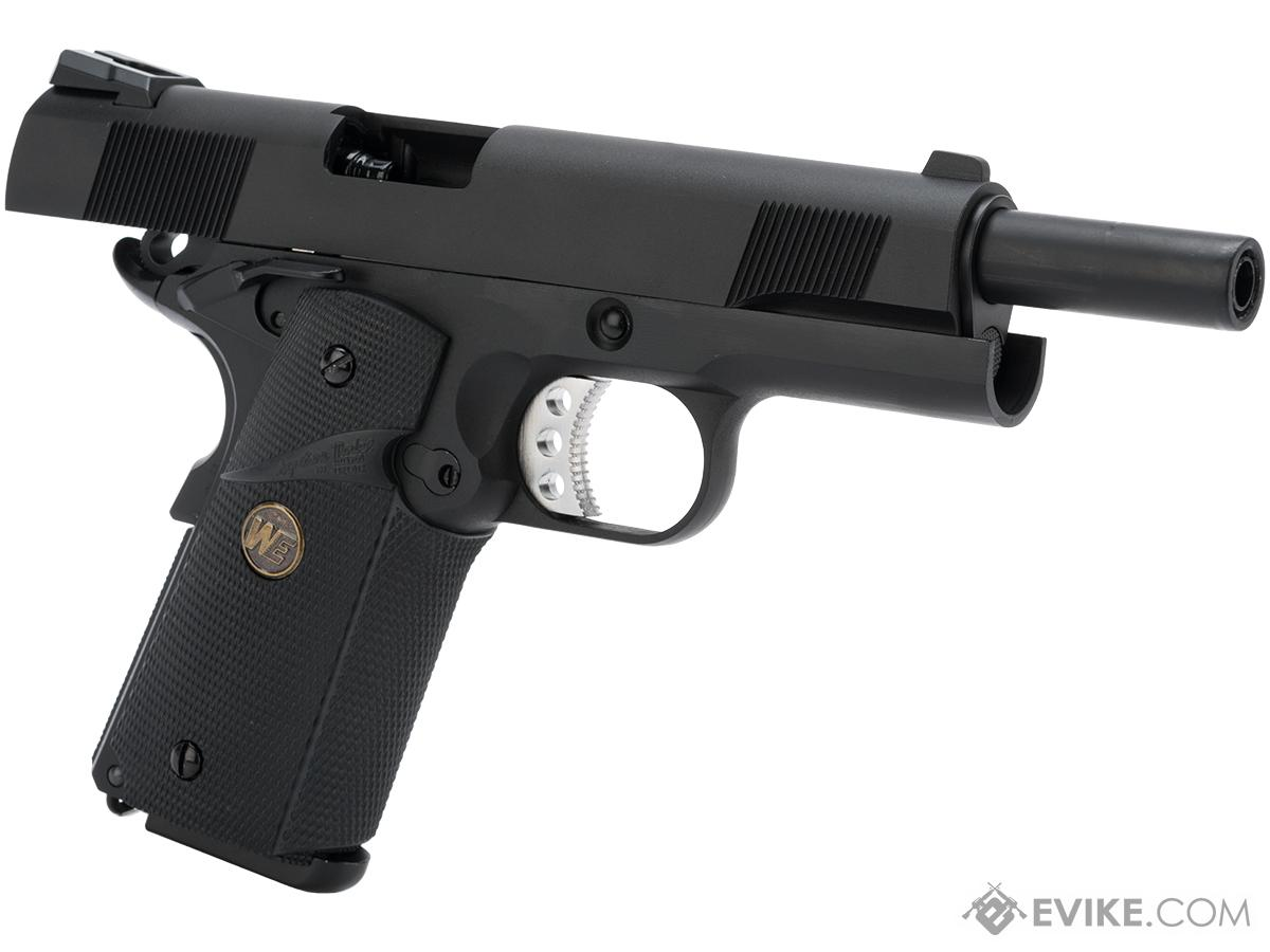WE / CQB Master Metal 1911 MEU Heavy Weight Airsoft GBB Pistol (Color: Black)