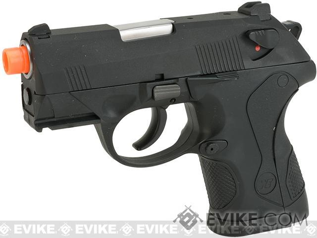 Pre-Order ETA October 2016 Bulldog Compact Airsoft Gas Blowback GBB Pistol by WE - Black