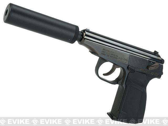 Colonel Putin Limited Edition CNC Steel Makarov PMM Gas Blowback Pistol w/ Mock Suppresor WE-Tech