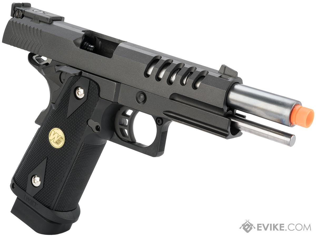 WE Metal Hi-CAPA 5.1 Hyper Speed Airsoft Gas Blowback Pistol w/ Threaded Barrel