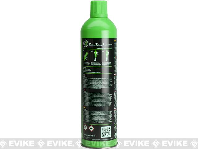 Airsoft Premium 2X High Performance Gas 10.5oz by WE (Qty: 1 Can / Green)