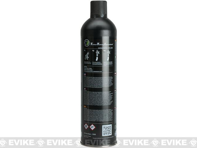 Airsoft Premium 4X High Performance Black Gas 10.5oz by WE (Quantity: 10 Cans)
