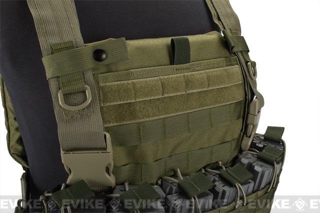 z HSGI Weesatch Plate Carrier - Smoke Green