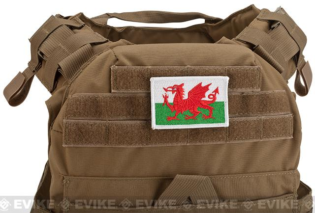 Evike.com Tactical Embroidered Welsh Flag Patch