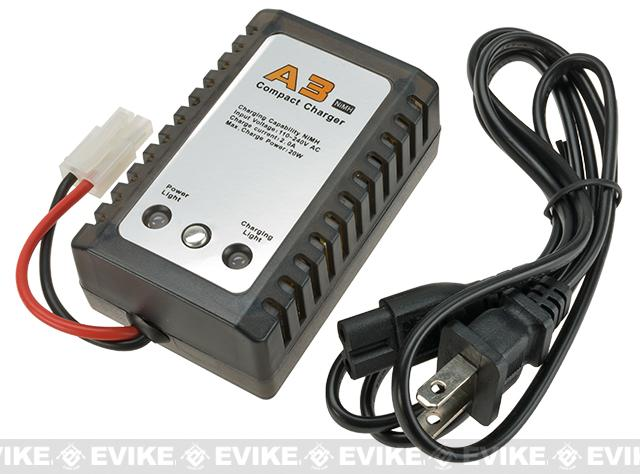 WE-Tech A3 Compact Charger for NiMh Batteries with 6-8 Cells