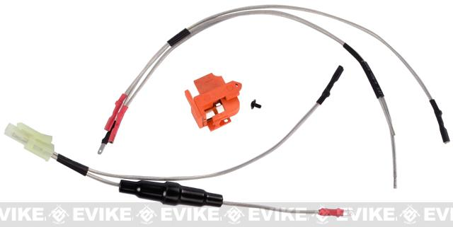 APS Wiring & Trigger Switch Assembly for Version 2 (M4 / M16 / MP5 / Ver.II) Series Airsoft AEG Rifles - (Rear Wiring)