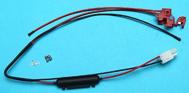 G&P Wiring Switch Assembly For Ver.II series Airosft AEG - Rear Wiring / Tamiya