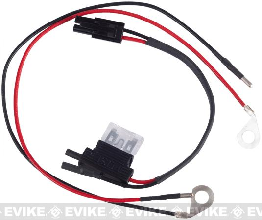 Wiring Harness with Fuse for SCAR/MK16/MK17/SCAR-H Series Airsoft AEG Rifles by VFC