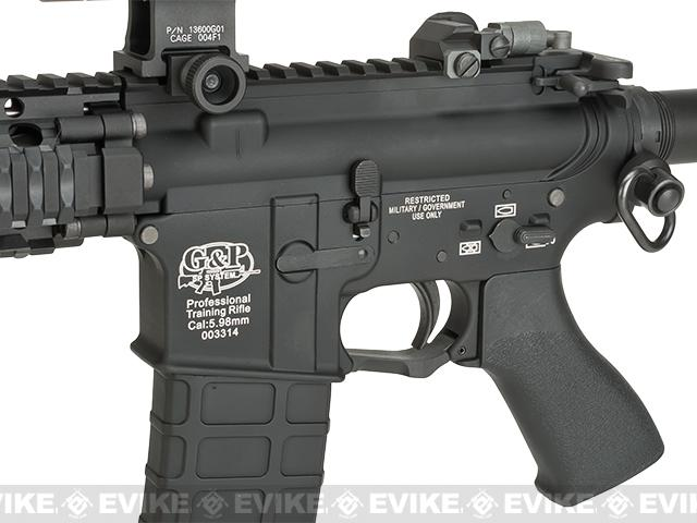 G&P WOC Defender Gas Blowback Airsoft Rifle - Black