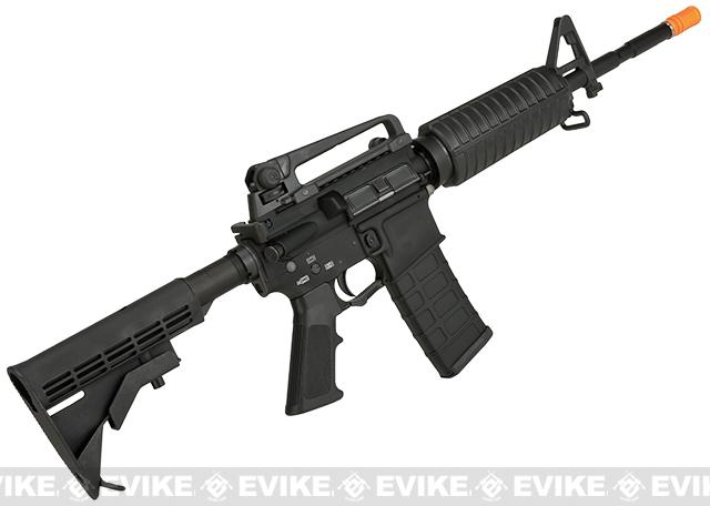 G&P WOC M4A1 Gas Blowback Airsoft Rifle - Black