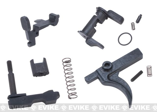G&P Steel Receiver Hardware Set for G&P / WA M4 Series Airsoft GBB Rifles - Ambidextrous