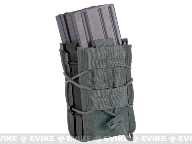 z HSGI X2R TACO® Modular Double Rifle Magazine Pouch - Urban Grey