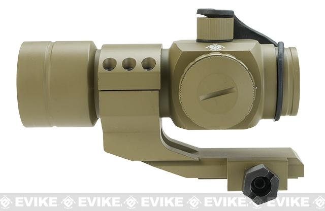 Evike Extreme 1.5x30 Red Dot Sight Scope System w/ Magnifier (Color: Desert)
