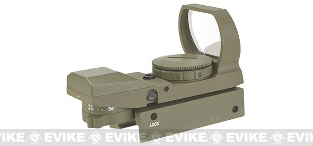 Evike Panorama Red/Green Dot with Spec. Ops Reticles - Tan