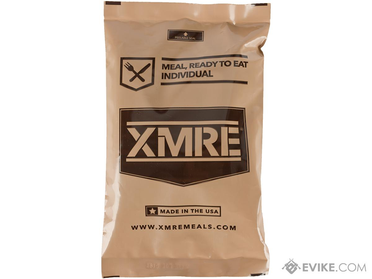 XMRE Meal Ready to Eat Single Meal (Meal: Shredded Beef in BBQ Sauce)