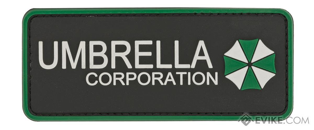 Large Umbrella Corporation PVC Morale Patch - Green