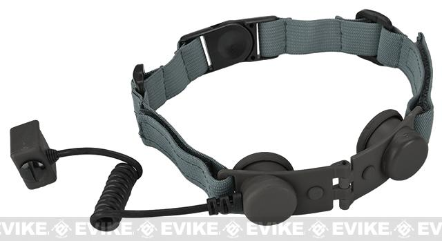 Element Z-Tactical Throat Mic Adapter (for Z029 Headset) - Foliage