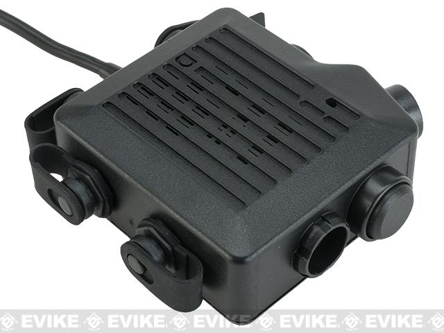 Z-Tactical TACMIC CT5 Intercom Radio PTT - (Connector: Motorola Talkabout)