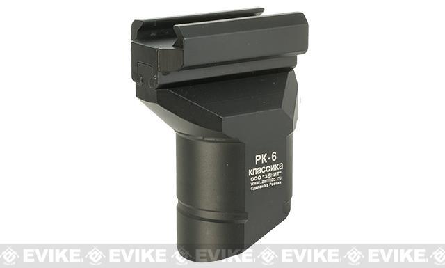Zenimei CNC Aluminum RK-6 Short Vertical Grip - Black