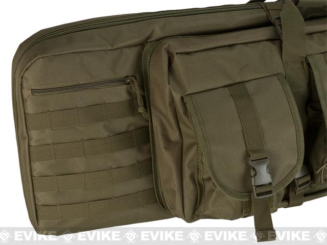Combat Featured 42 Ultimate Dual Weapon Case Rifle Bag (Green)