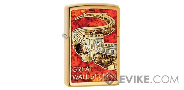 Zippo Classic Lighter - Great Wall of China