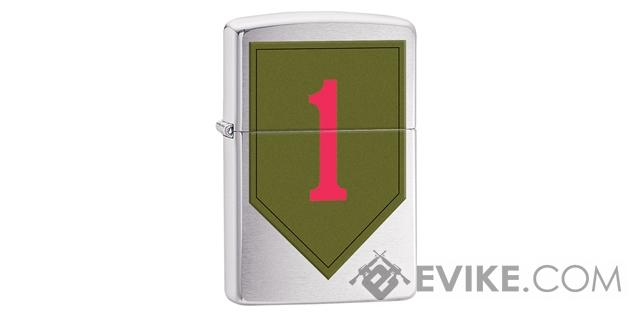 Zippo Classic Lighter - Army 1st Infantry