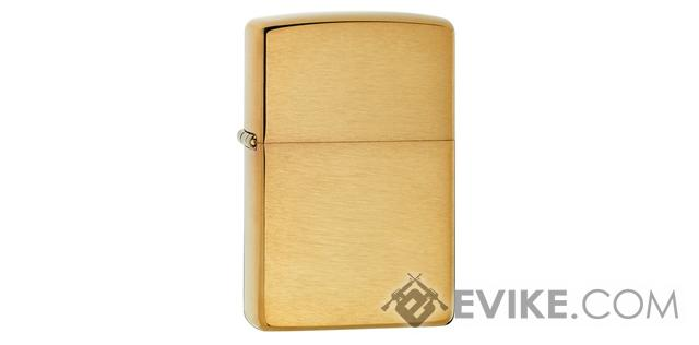 Zippo Classic Lighter - Brushed Brass