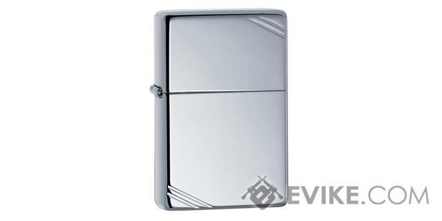 Zippo Vintage Series 1937 with Slashes - Polished Stainless