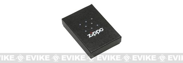Zippo Classic Lighter - Air Force Emblem  (Brushed Chrome)