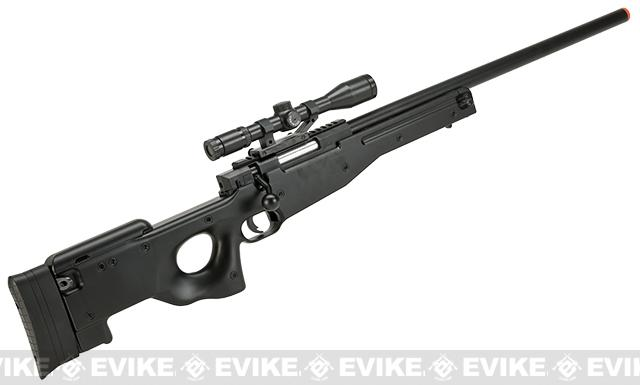 Bone Yard - Lancer Tactical ZM52 Bolt Action Spring Powered Airsoft Sniper Rifle (Store Display, Non-Working Or Refurbished Models)